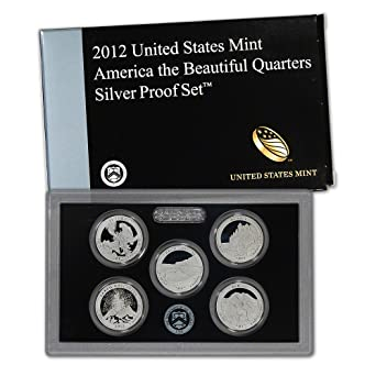 2016 S America the Beautiful National Parks ~ Mint Clad Proof Set in Lens Case