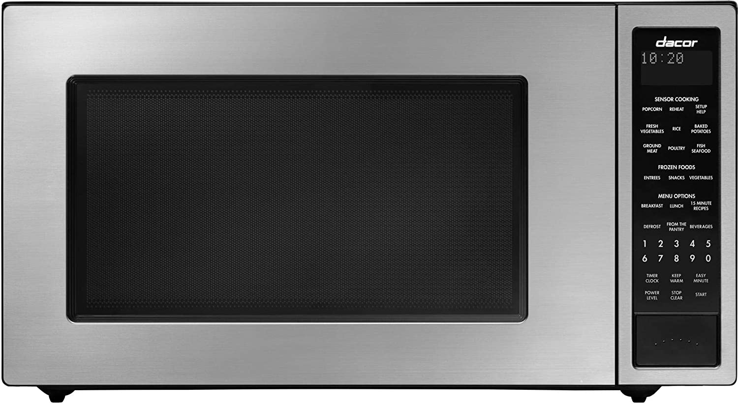 """Dacor 24"""" Distinctive Series Counter Top or Built-In Stainless Steel Microwave"""