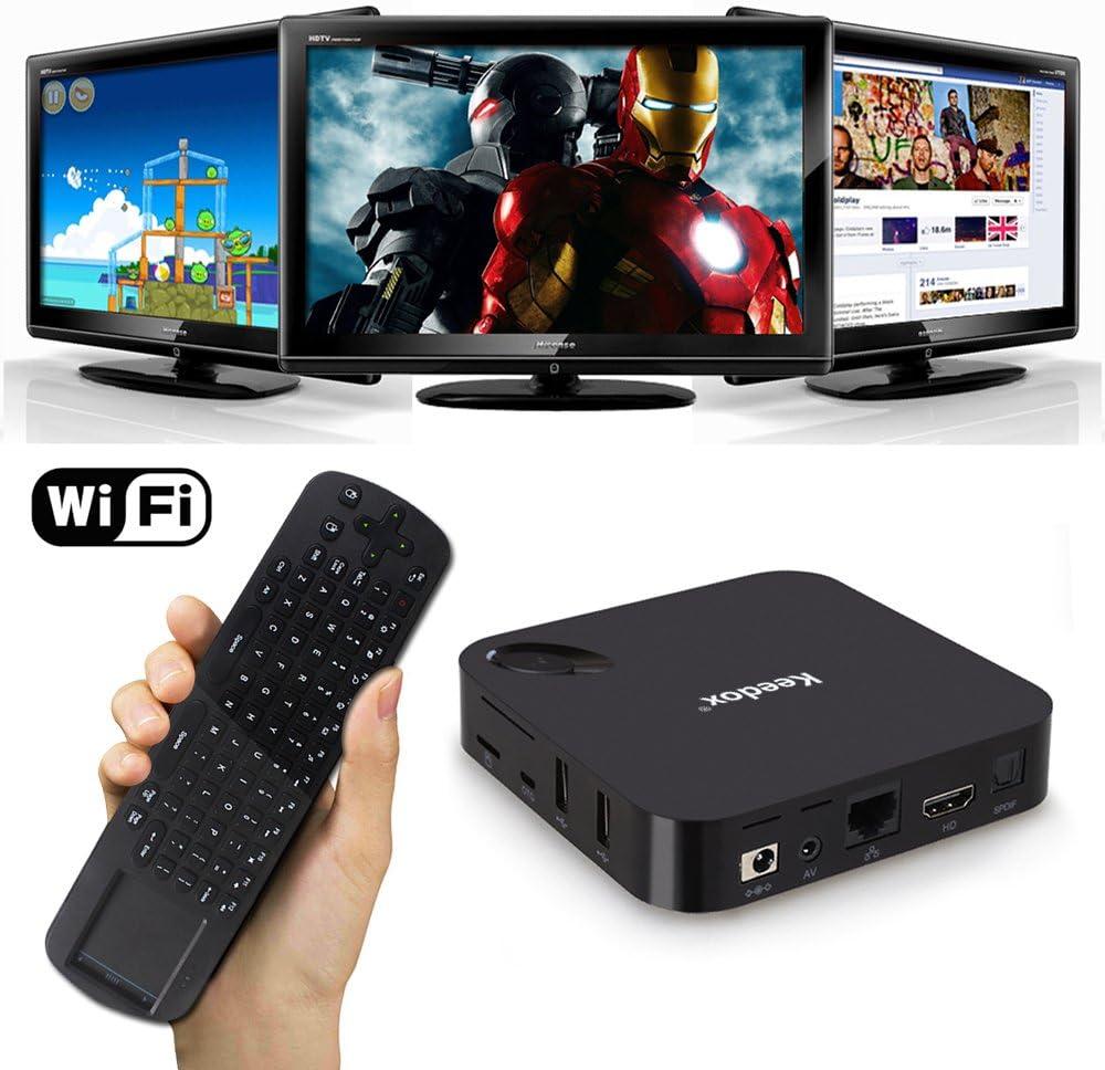 Keedox Smart TV Box Android Bluetooth: Amazon.es: Electrónica