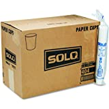 SOLO 404 4 Oz. Paper Water Cup White (5000-Pack)