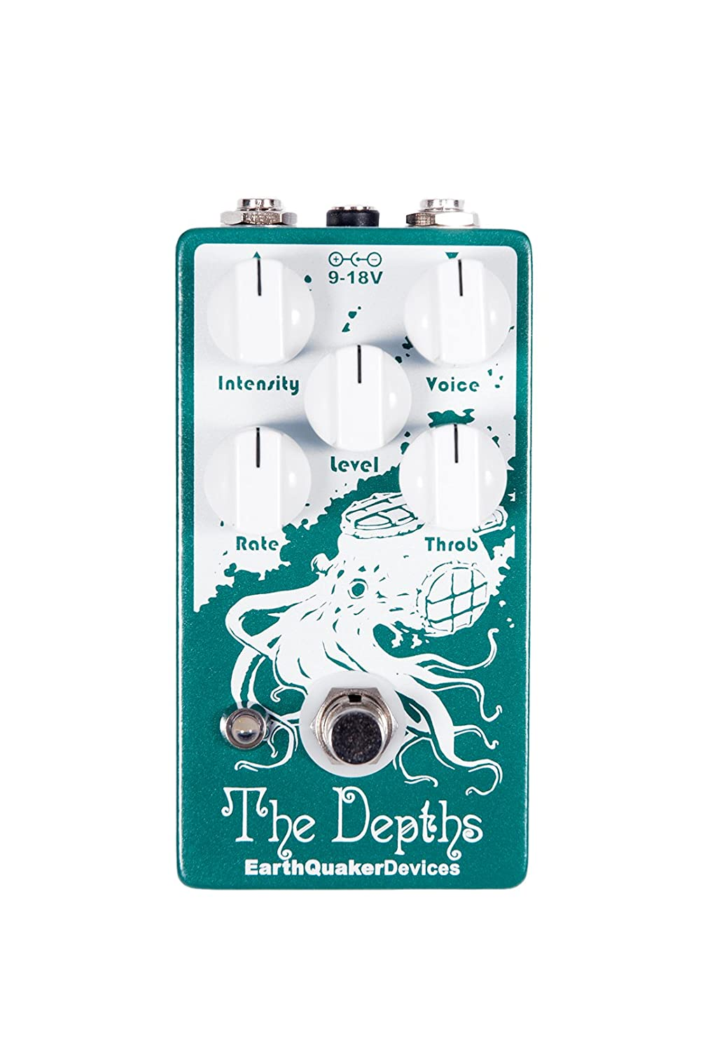 Earthquaker Devices The Depths Optical Vibe Circuit Tremolo Effect Using Ua741 Effects Pedal Musical Instruments
