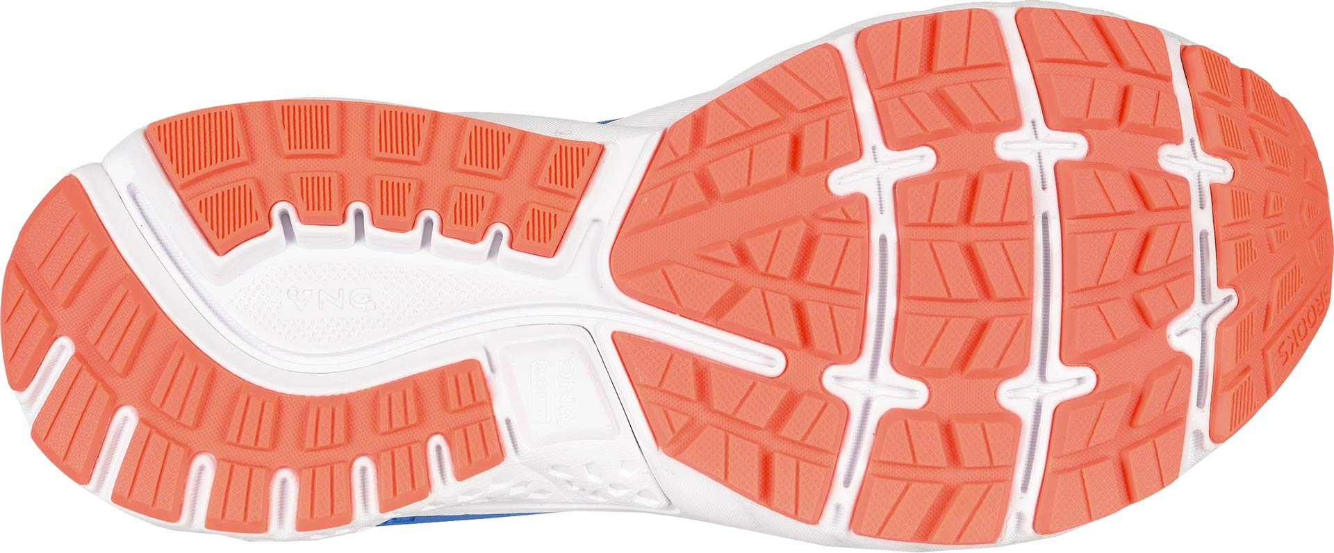 Brooks Women's Ghost 11 Blue/Navy/Coral 5 B US by Brooks (Image #3)