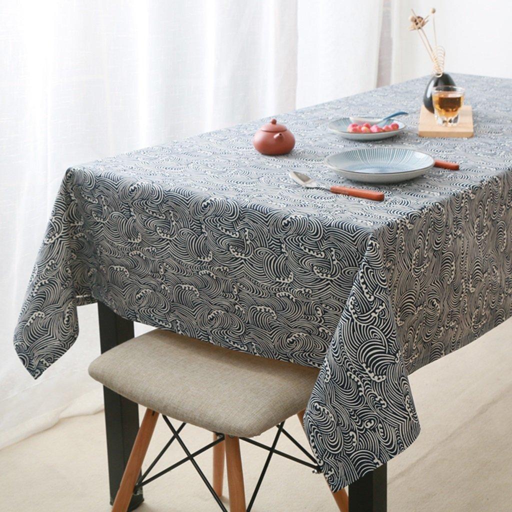 HAOLIA Jane Manteles europeos tradicionales de algodón y lino retro tovaglie ( Tamaño : 90140cm )