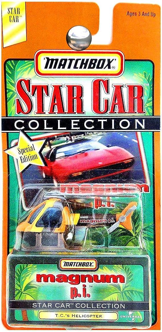 Matchbox Star Car Magnum p.i. T.Cs Helicopter: Amazon.es: Juguetes y juegos