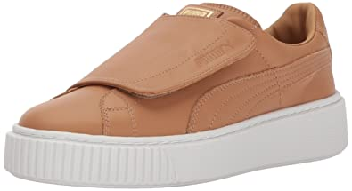 5d3be9fbfe1 Puma Women s Basket Platform Strap Wn Sneaker  Amazon.co.uk  Shoes ...