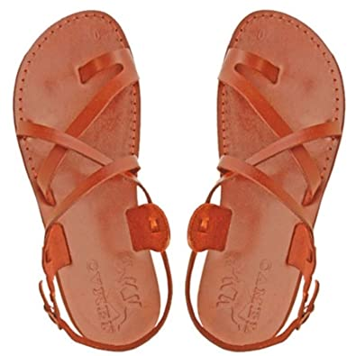 6651dc8600bde0 Jesus Sandals for Men in Leather — Made in Bethlehem
