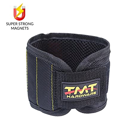 Magnetic Wristband For Holding Tools Screws