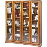 130031de9b42b chemin de campagne Style Ancienne Grande Bibliothèque Armoire Vitrée ...