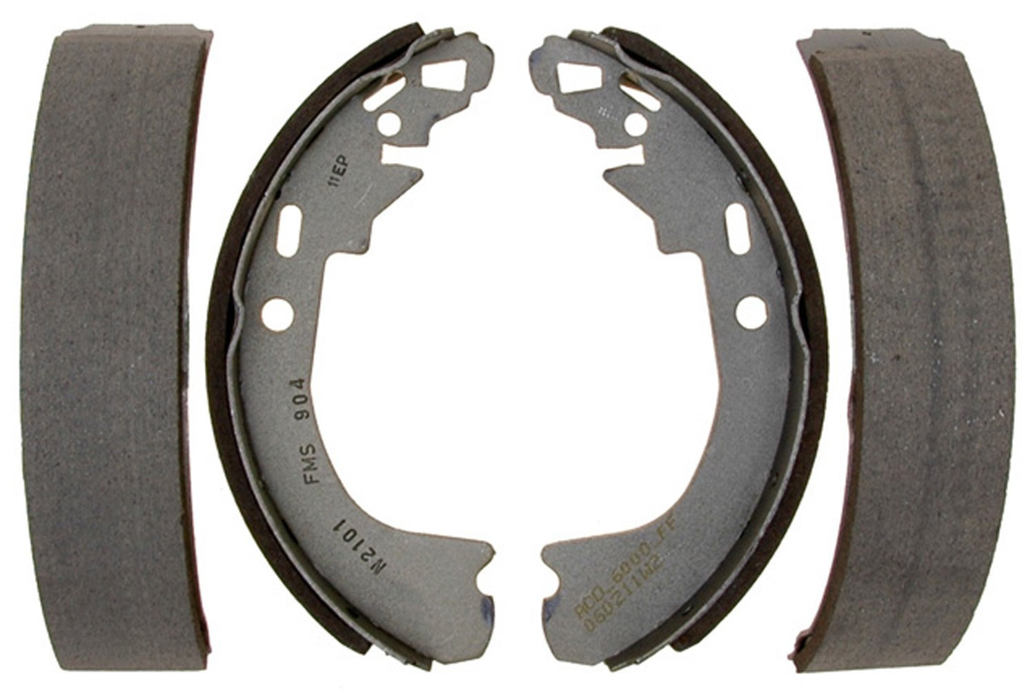 ACDelco 14904B Advantage Bonded Rear Brake Shoe Set