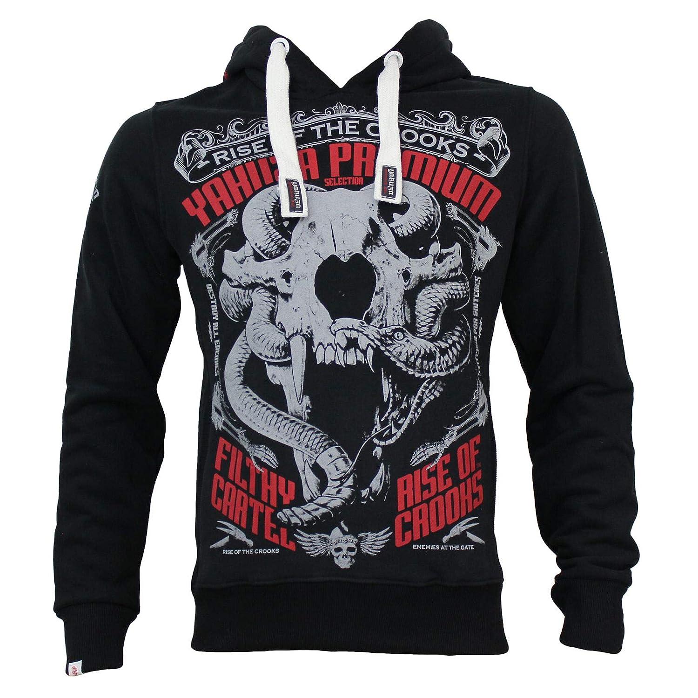 Yakuza Premium Sweatshirt YPH 2521 schwarz