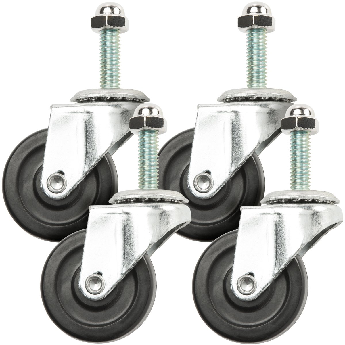 Steiner 54604HD Swivel Caster Wheel for Protect-O-Screen HD (4 Pack)