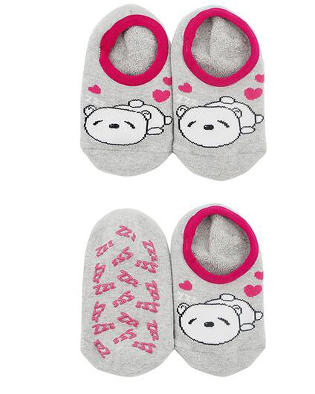 4-6years, girl random color Lucky staryuan /® 10 Pairs Non Slip Baby Boy Girl Anti Skid Socks