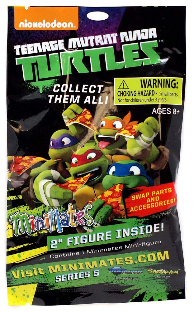 Amazon.com: Minimates Teenage Mutant Ninja Turtles Series 5 ...