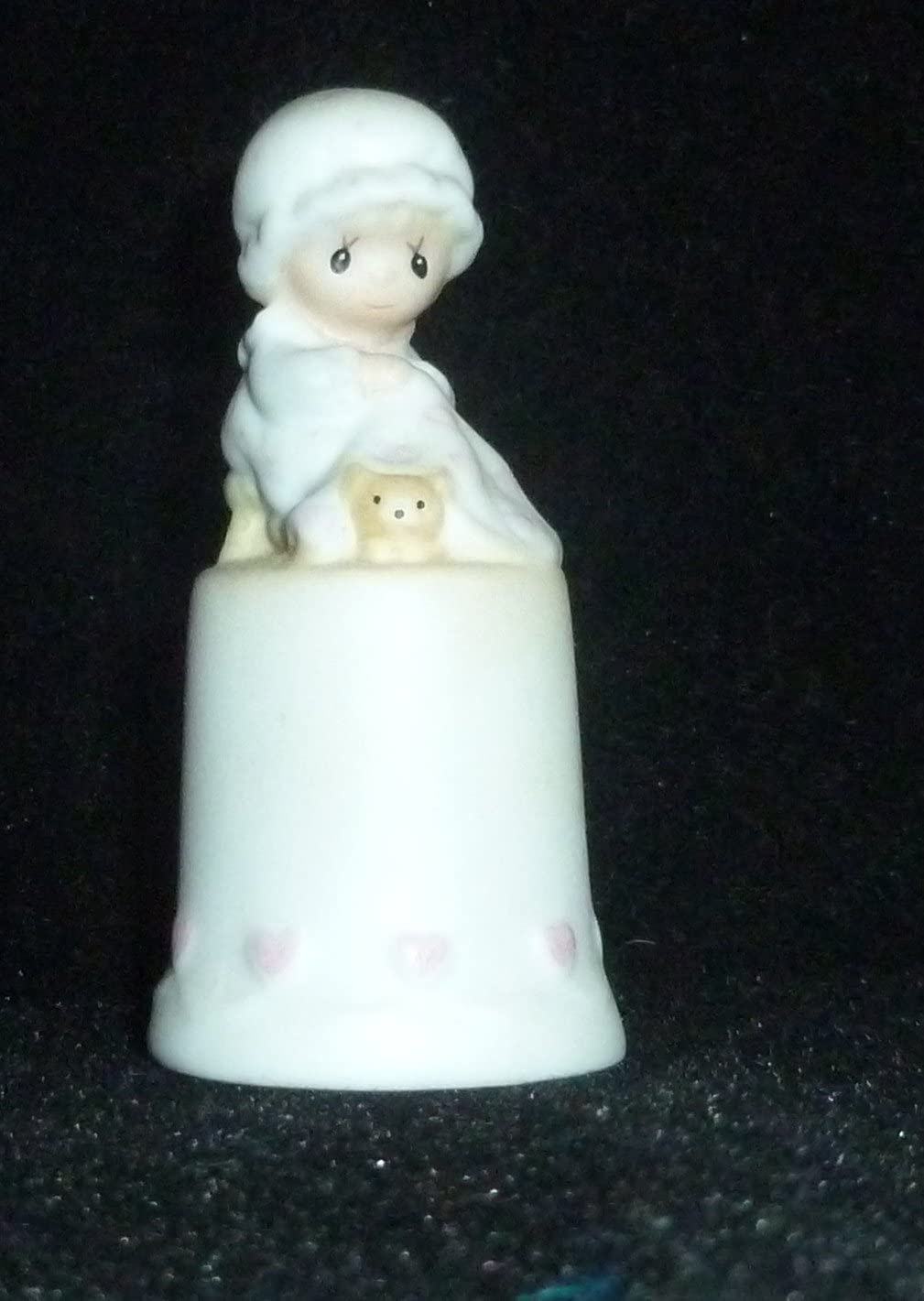 Precious Moments Love Covers All Figural Thimble