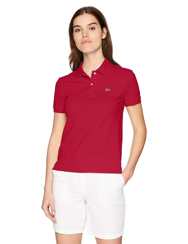 Lacoste Womens Classic Fit Short Sleeve Soft Cotton Petit Piqu