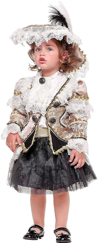 productos creativos Talla 2 Disfraz BUCANIERA Beb Vestido Fiesta de de de Cochenaval Fancy Dress Disfraces Halloween CosJugar Veneziano Party 50623  tienda hace compras y ventas