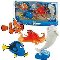 Bullyland Disney Pixar Finding Dory figure 4Pack–Nemo, Dory, Hank & Bailey