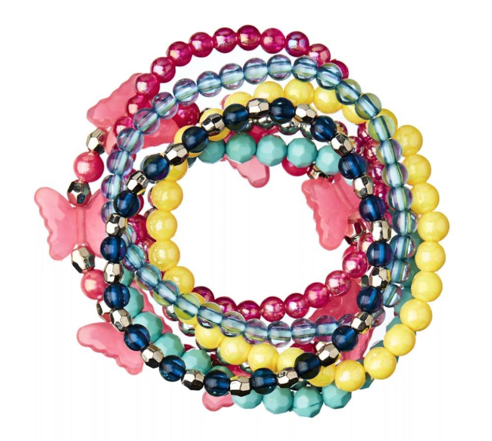 Smiggle Bejewelled Smile Bracelet Pack x7