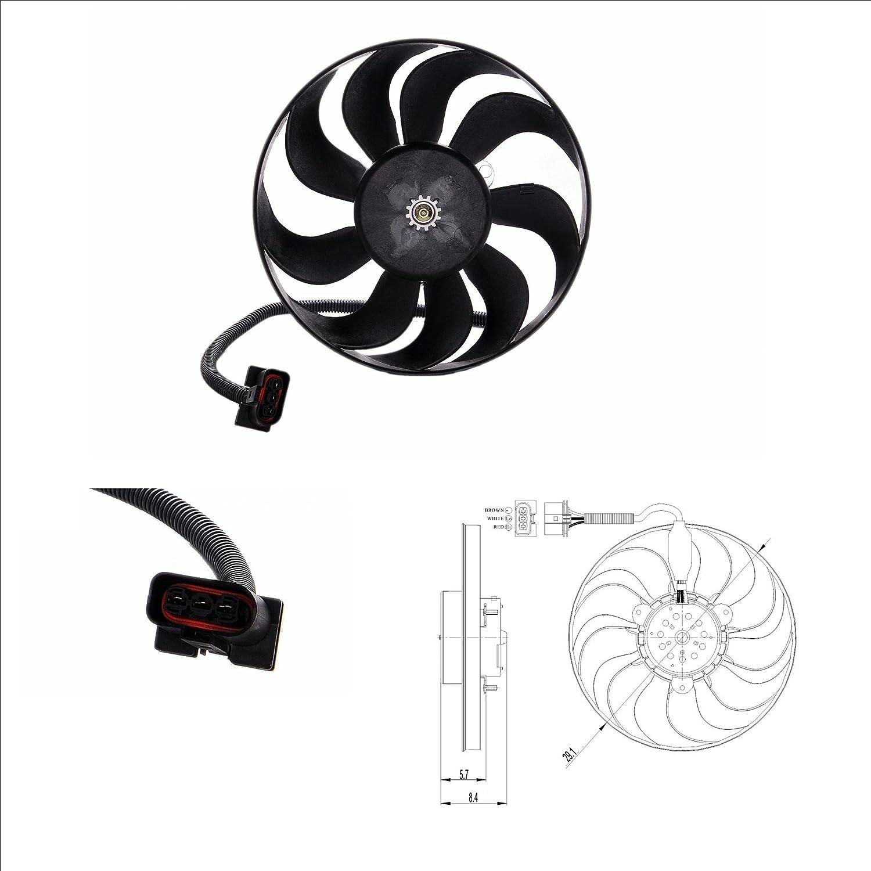 NRF 47398 Ventilador, refrigeración del motor: Amazon.es: Coche y moto