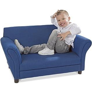 Genial Melissa U0026 Doug Childu0027s Sofa   Denim Childrenu0027s Furniture