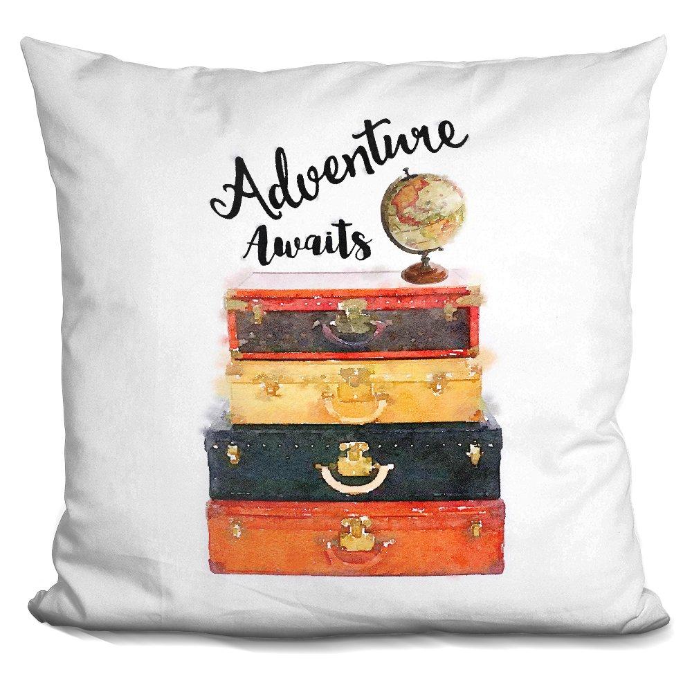 LiLiPi Adventure Awaits. Decorative Accent Throw Pillow