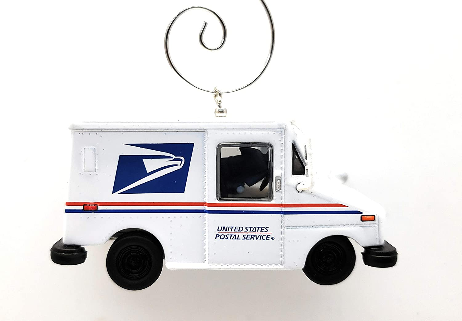 Mail Truck Post Office Postal Custom Christmas Ornament 1:64 Diecast