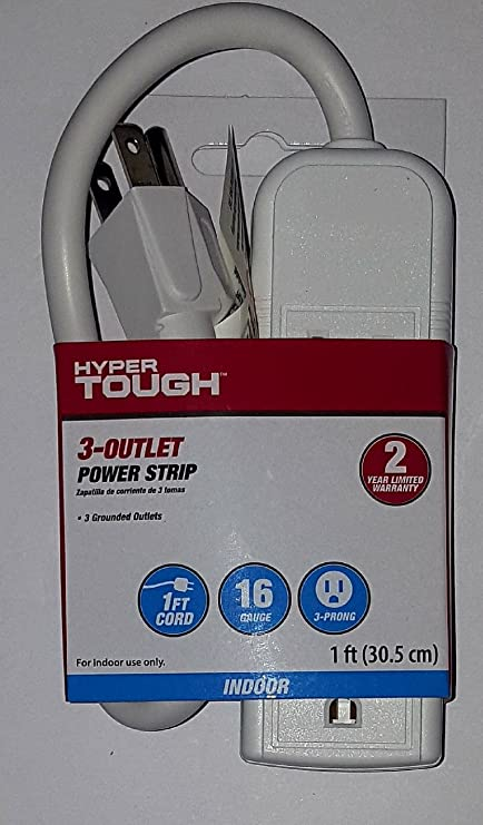 Hyper Tough 3 outlet power strip