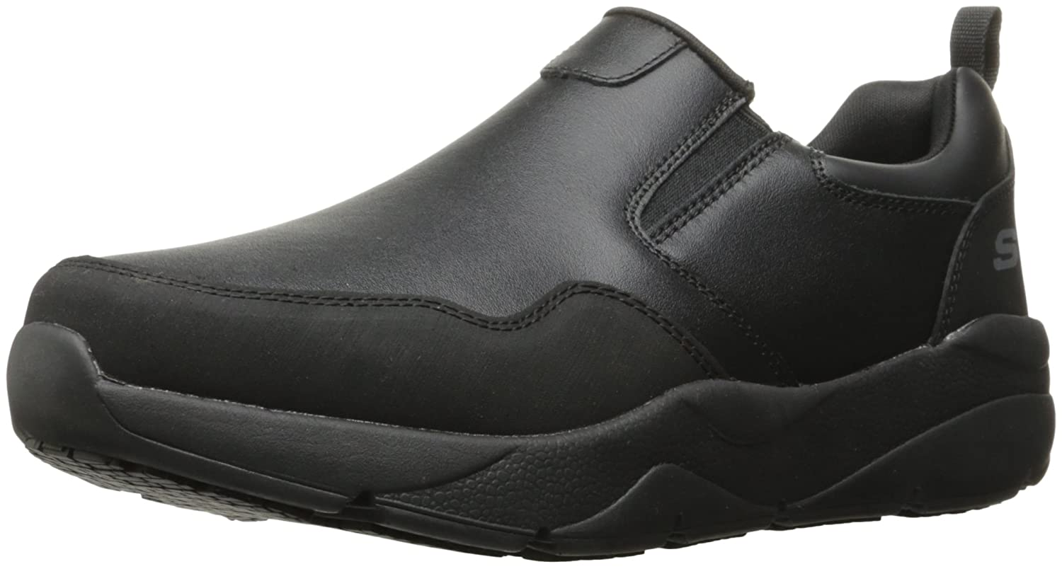 Skechers Work Men's Resterly Work schuhe, schwarz, 9.5 D(M) US