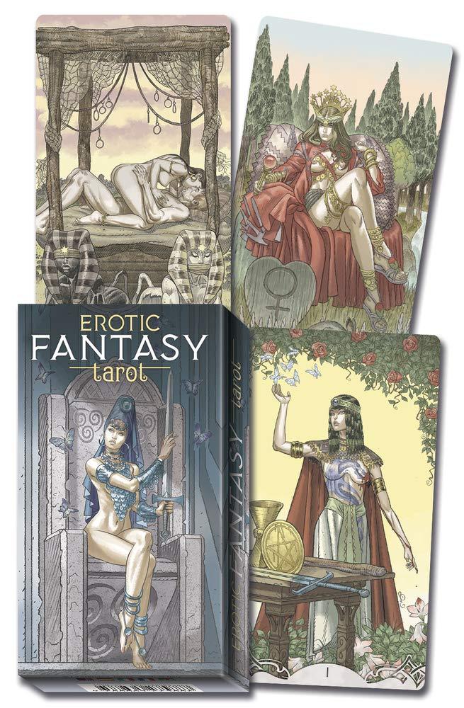 Erotic Fantasy Tarot: Viglioglia, Joseph, Gailli, Giacomo: 9780738766409:  Amazon.com: Books