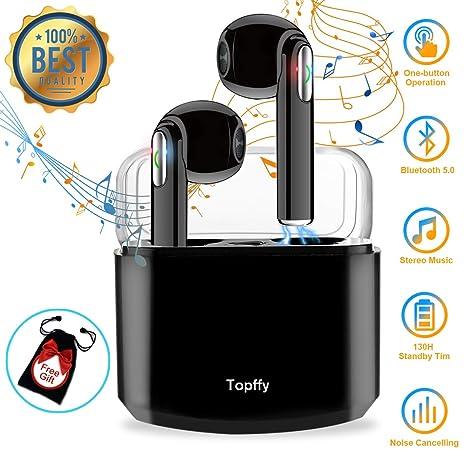 Auriculares Bluetooth,Auriculares inalambricos Bluetooth Auriculares Cascos Bluetooth inalámbricos Mejores Auricular inalambrico Deportivos Estéreo ...