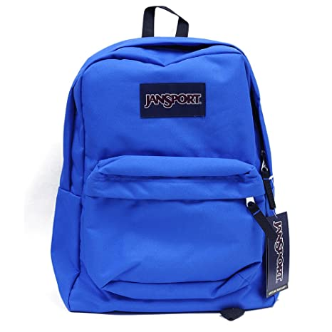 Jansport Superbreak School Backpack Original Select Color: Blue Streak