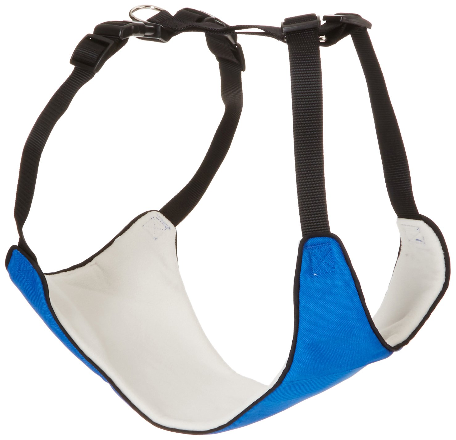 Guardian Gear Nylon Lift & Lead 4-in-1 Dog Harness, X-Large, Blue