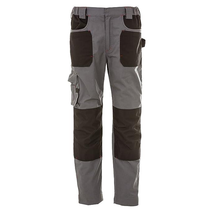 Pantalone da Lavoro Professionale Elasticizzato Multitasche James Ross  Riad  Amazon.it  Abbigliamento 932f85c27f5