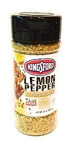 KingSford All Purpose Seasoning Garlic & Herbs + Lemon Pepper