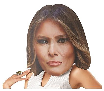 f75893b55268d4 Amazon.com  Bobble Hedz First Lady Melania Trump Mask  Toys   Games