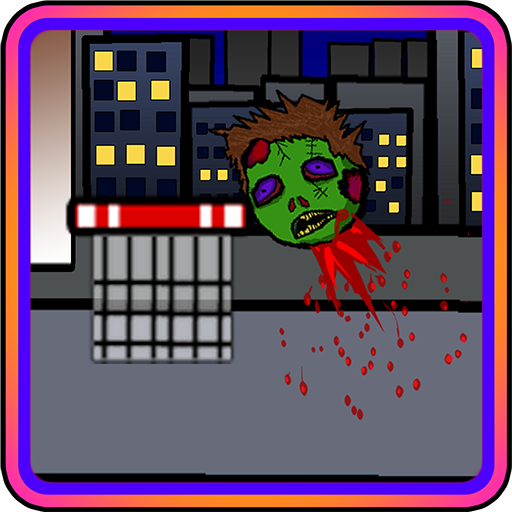 Shoot The Zombie Head  A Basketball Net Shot Game