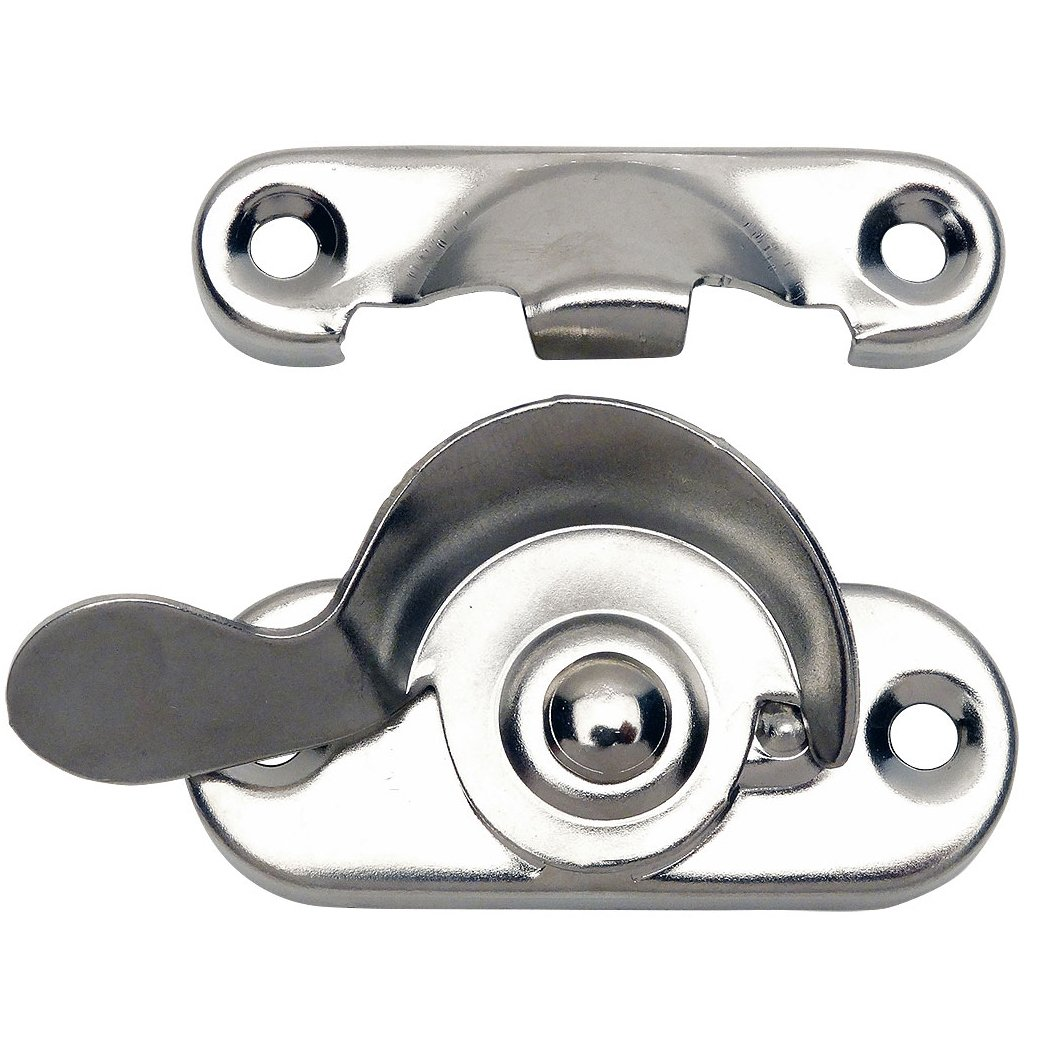 10 Pack - Designers Impressions 53737 Polished Chrome Window Sash Lock