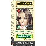 Indus Valley 100% Botanical 100% Organic Ash Blonde Natural Hair Dye for Sensitive Skin, Pregnant women, Lactating women…