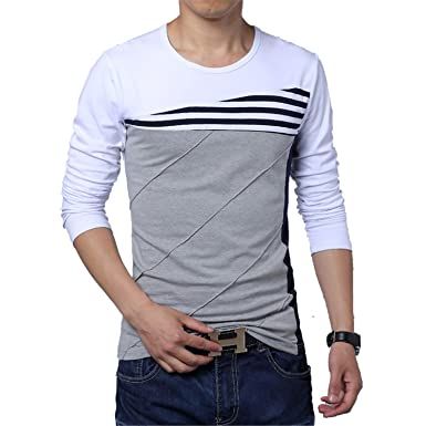 2aaa5959c Vazpue Shirts Hot Sale 2016 New Fashion O-Neck Trend Long Sleeve T Shirts  Men