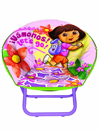 Nickelodeon Dora the Explorer Toddler Saucer Chair  sc 1 st  Amazon.com & Amazon.com: Nickelodeon Dora the Explorer Toddler Saucer Chair: Toys ...