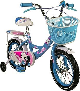 Zerimar Bicicletas Infantiles para niñas| Bici con ruedines y ...