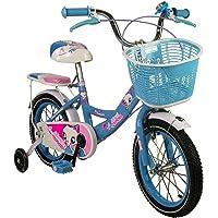 Zerimar Infantiles para niñas ruedines y Cesta| Bici