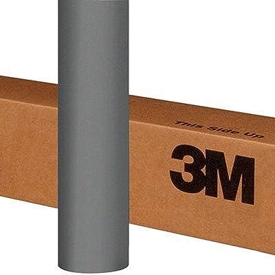 3M 1080 M230 Matte Gray Aluminum 5ft x 1ft (5 Sq/ft) Car Wrap Vinyl Film: Automotive