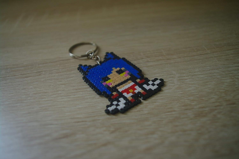 Llavero Ahri - League of Legends/Hama beads - Pixel art ...