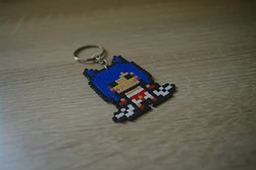 Amazon.com: Keychain Ahri League of Legends - Hama beads ...