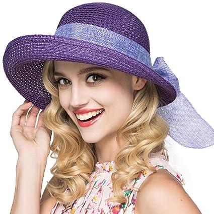 997cc38775809 Amazon.com  WEEKEND SHOP FS Summer Sun Hats for Women Foldable 2018 ...