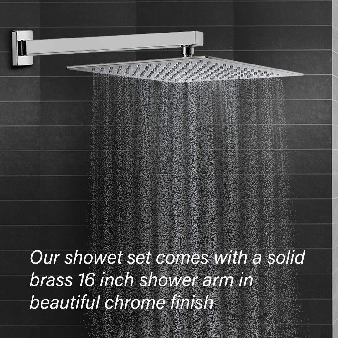 98 Inch Shower Hose Extra Long 98 inches, Chrome Hand Held Shower Hose Extension Toilet Handheld Showerhead Hose| Long Shower Hose Extension Shower Head Hose Shower Pipe for Bathroom
