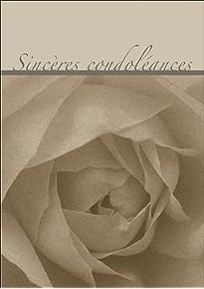Hallmark Carte De Condoleances Interieur Vierge Medium Amazon Fr