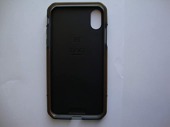 super popular c40c9 821f8 Platinum - Case for Apple iPhone X - Black/Orange