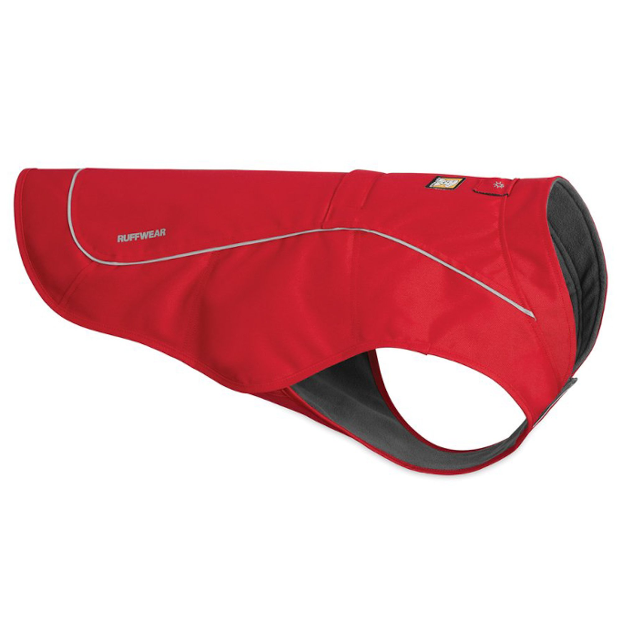RUFFWEAR - Overcoat Insulated Dog Jacket for Cold Weather, Red Currant, Medium